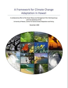 image- A Framework for Climate Change Adaptation in Hawai'i