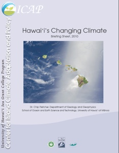 image- Hawai'i's Changing Climate Briefing Sheet, 2010